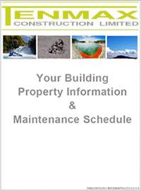 Your building property information and maintenance schedule
